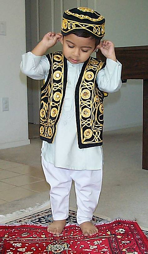muslim child praying - Islam Competition October 2015