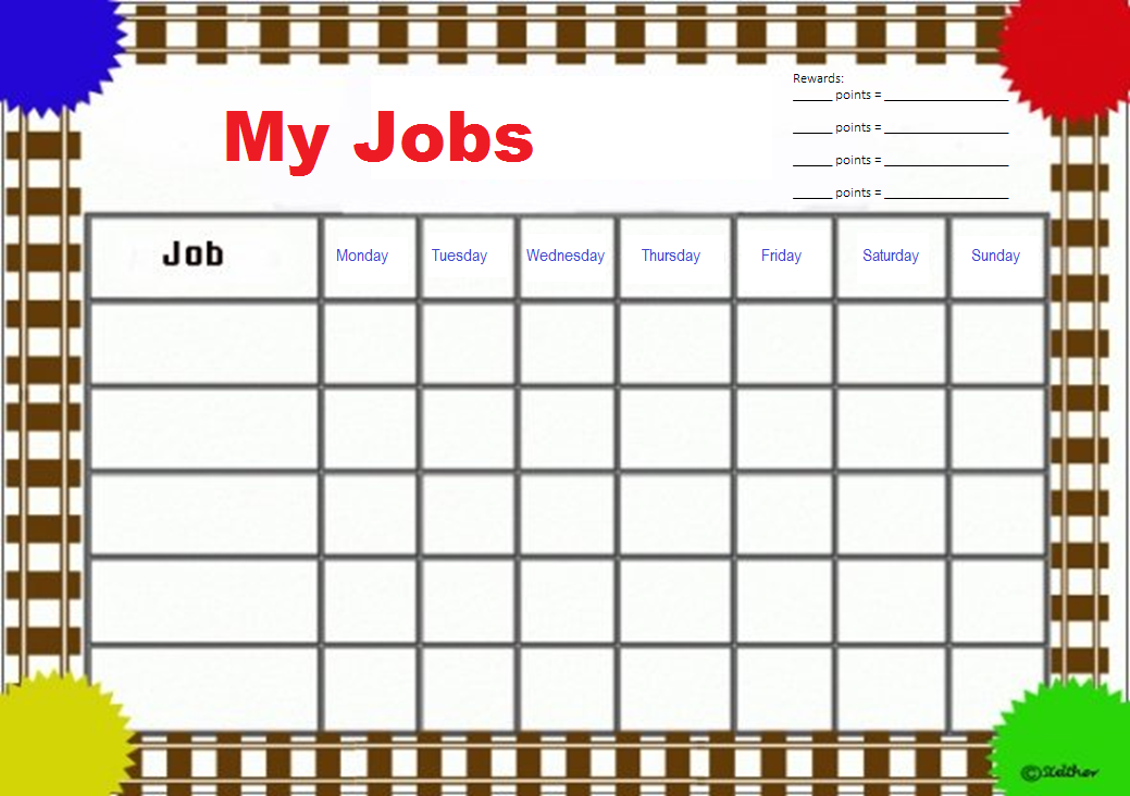 picture about Printable Homework Chart named Chart youngster research printable