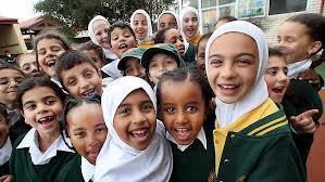 Australian Muslim kids