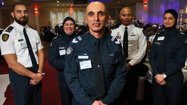 Australian muslim police officers
