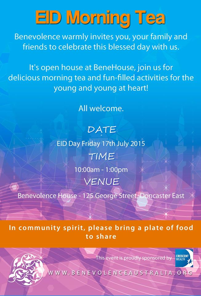 benevolence house eid 2015