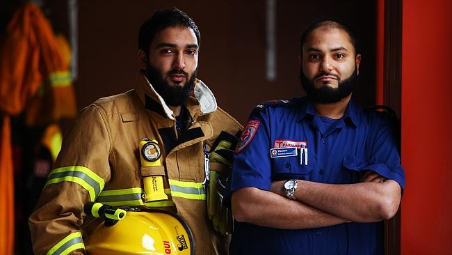 firemen muslim ambulance australia