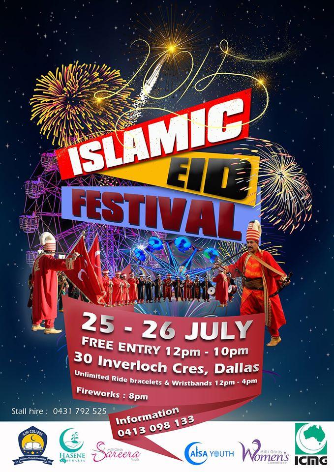 islamic eid festival 2015 melbourne