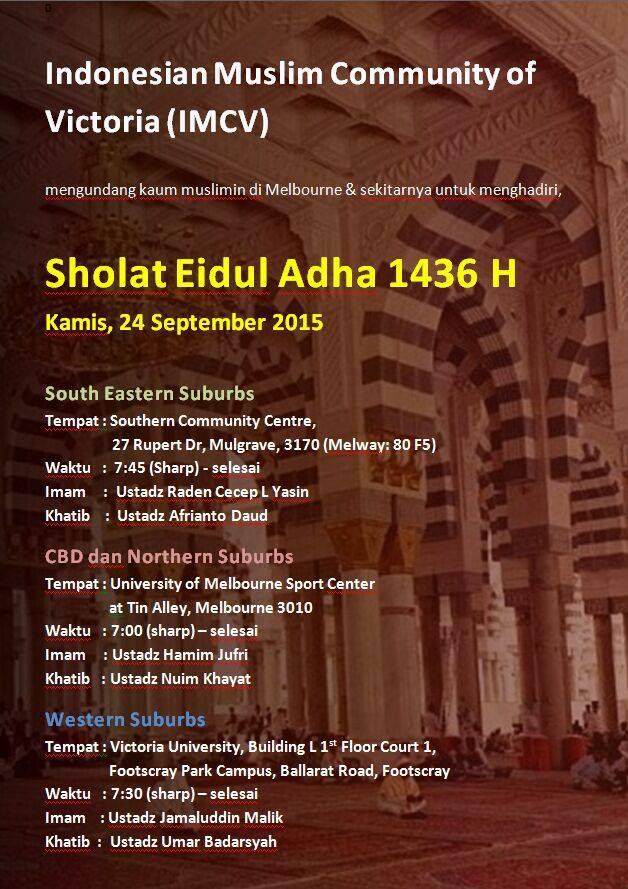 indonesian muslim community of victoria