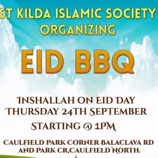 st kilda islamic society eid bbq