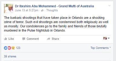 orlando grand mufti of australia