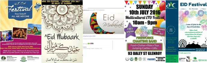 eid festivals 2016 melbourne