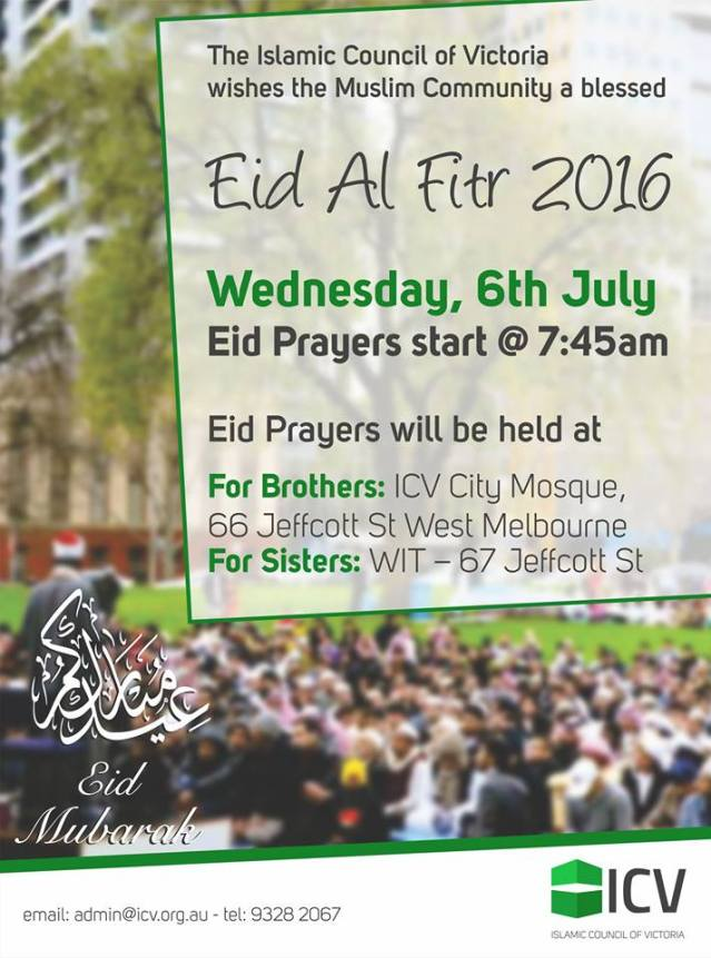 eid in melbourne 2016___ 1