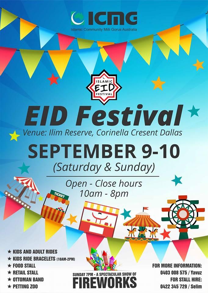 eid festival in dallas melbourne 2017