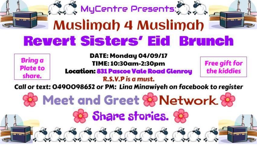 muslim revert sisters eid brunch 2017 melbourne