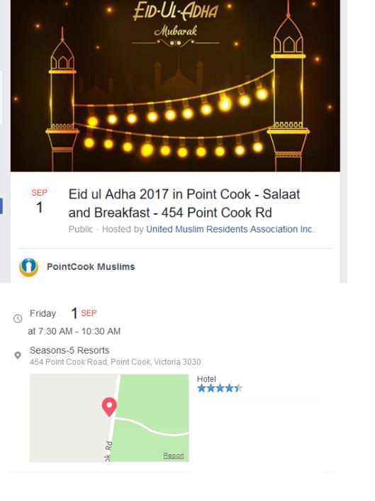 pointcook muslims eid 2017