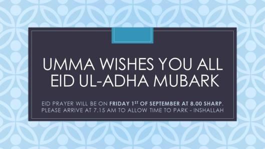 umma eid prayers doncaster mosque 2017