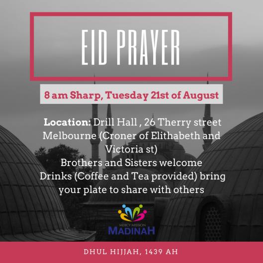 eid al adha prayers melboune 2018 _ 4