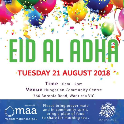 eid al adha prayers melboune 2018 _ 9