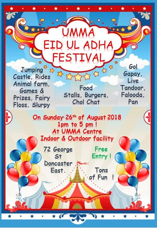 eid festival melbourne 7 _ eid al adha 2018