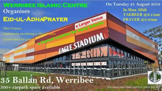 werribee islamic centre eid 2018